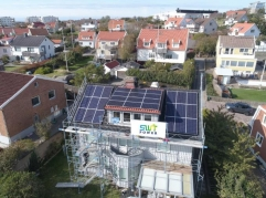 100KW project in Europe solar system