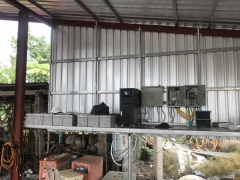 Thailand Hybrid 10KW project for farmland